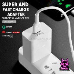 Adapter Super Charge C65 ที่ชาร์จ Hoco