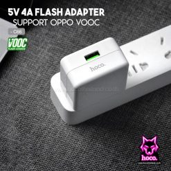 Adapter VOOC Charge C66 4A ที่ชาร์จ Hoco