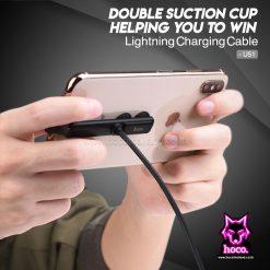 สายชาร์จ ไอโฟน U51 Cable Lightning Hoco