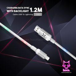 สายชาร์จ ไอโฟน U63 Cable Lightning Hoco