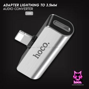 Lightning to 3.5mm Adapter LS25 อะแดปเตอร์ Hoco