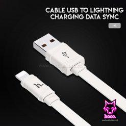 สายชาร์จ ไอโฟน X5 1M Cable Lightning Hoco
