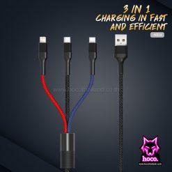 สายชาร์จ 3in1 NB54 Cable XO